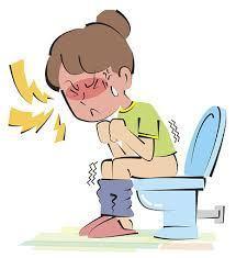 constipation illustration